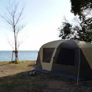 瀬戸内海の穏やかな海を楽しむ@丸山県民サンビーチ【4年目・5泊目】