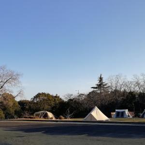 初!愛知でキャンプ@大曽公園キャンプ場【4年目・6泊目】