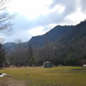 夫の無駄遣い?新幕を張りに手抜きキャンプ@古法華自然公園【4年目8泊目】