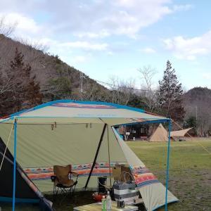 久々の「ダブルティピーテント」を張るキャンプ@古法華自然公園【4年目・9泊目】
