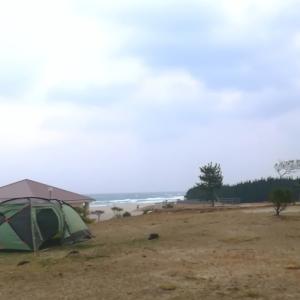 無料なのにキレイ!島根県立石見海浜公園キャンプ場