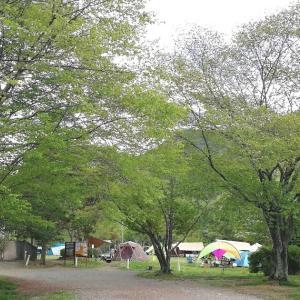 GWの古法華自然公園でワンコとティピーテントのキャンプデビュー②【4年目14泊目】