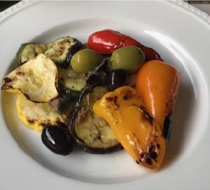 ズッキーニ、茄子、ミニパプリカのマリネ