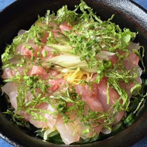金目鯛の昆布締め丼