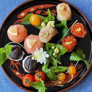 Harvest Moon(中秋の名月)の手毬寿司