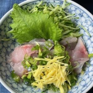 鯵と松茸の豪華なランチ定食