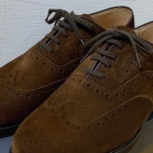 スニーカー感覚で履けるカジュアル革靴―大塚製靴の「ハッシュパピー」を買いました