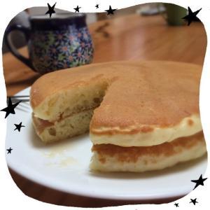 朝ごはん ホットケーキ