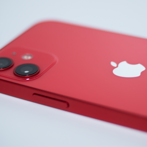 桃色朱的で素敵なiPhone12 mini