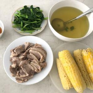 ベトナム家庭料理生活に戻りました!これで体重も落ちますように…。