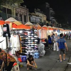 【復活】金曜日の夜から、ハノイ旧市街の歩行者天国が再開されるようです!!!