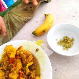 【ハノイの秋の味覚】隠れた名物「コム(cốm)」をバナナにつけて食べたら美味しかった!