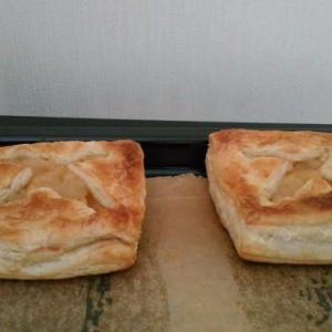 新しいオーブンレンジでアップルパイを焼いたら・・・