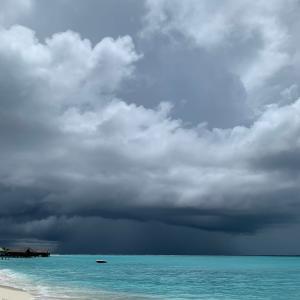 晴れ、曇り、雨の全てが楽しめるお天気