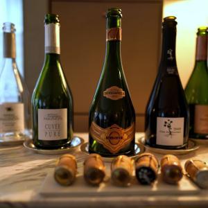 Champagne Pierre Mignon Lunch by DOMINIQUE BOUCHET @ドミニク・ブシェ トーキョー