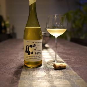 Domaine tetta  Chardonnay Perlant Sans Soufre Eil-de-Perdrix 2019