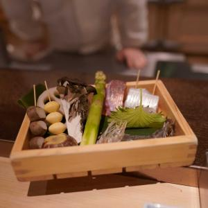 東京で天婦羅を食す @山の上ホテルGinza