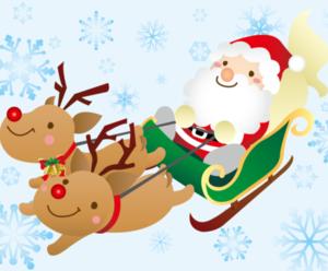【クリスマスフェア】サンタがSBSマイホームセンターにやってきます!!