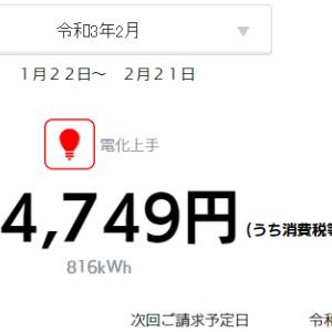 2月も太陽光発電で儲けさせていただきました。