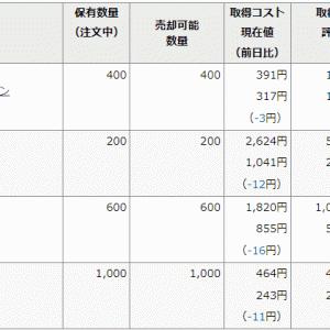 ありゃ~ 18万円も下げちゃったかよ!!