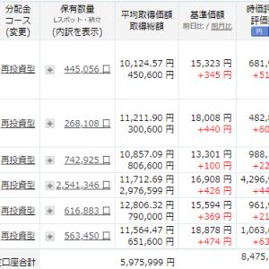 投資信託とベトナム株の上げ幅が凄い!!