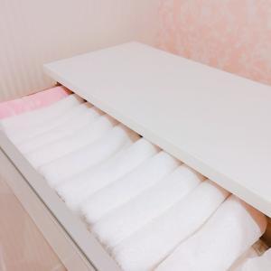 タオルを総入れ替え。。☆ 栗の和菓子でteatime。。♡