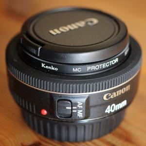 とてもコンパクトな神レンズ CANON EF40mm F2.8 STM