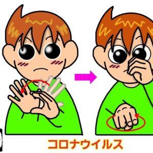 手話単語:1102 【コロナウイルス】