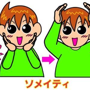 手話単語:1114 【ソメイティ】