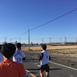 越谷市元旦マラソン大会は快晴の中を駆け抜けました