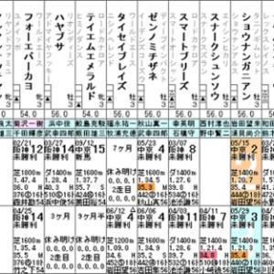 【ゴッドシエル】これは厳しいかもなぁ(^^;) 6/20阪神3R・出走確定