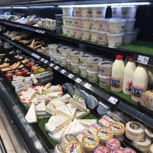 フランスのスーパーマーケット Auchan