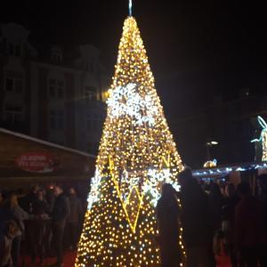 ナミュールのクリスマスマーケット