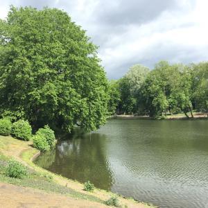 デュッセルドルフ市内のお散歩公園