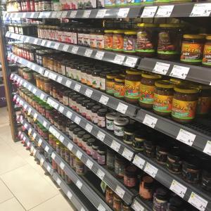 デュッセル市内のBioショップ Denns Biomarkt