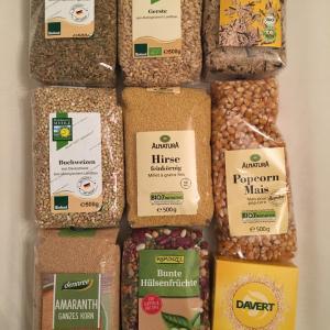 必要な雑穀全部揃ったぁ!