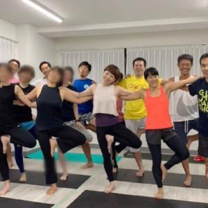 川崎でのヨガ教室 つづき(*^_^*)