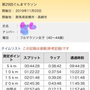 やっぱりぐんまマラソン<(_ _)>
