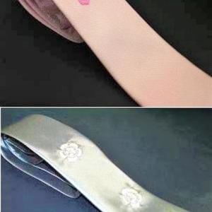 デザインとしての家紋ネクタイ