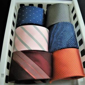 ネクタイにやさしい保管方法