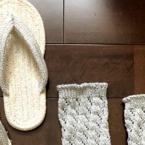 靴下、Wendyさんのフリーパターンより