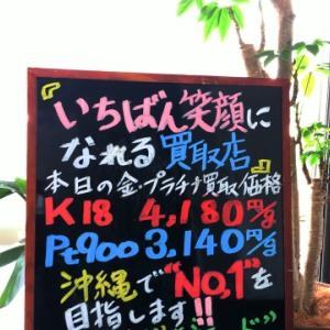 1月17日(金) 金・プラチナ買取価格♪