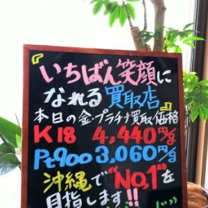 2/22 (土) 金・プラチナ買取価格♪