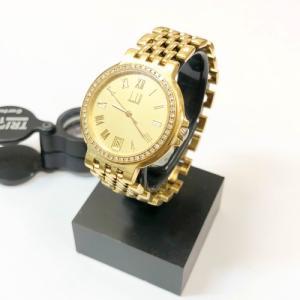 ダンヒル・18金時計のお買取♪