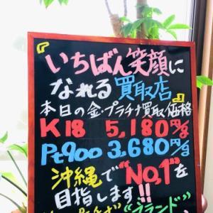 6月7日(月) 金・プラチナ買取価格♪
