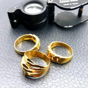 18金 19g・指輪のお買取♪