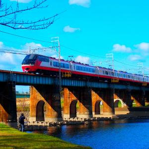 ❿岡崎天満宮で合格祈願!と名鉄鉄橋100年の歴史