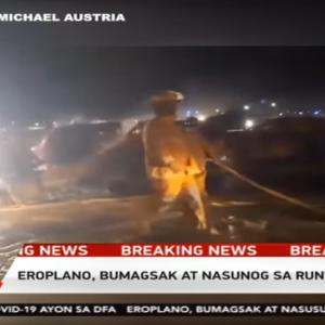 マニラ空港で羽田行チャーター機が離陸失敗8人死亡