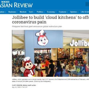 フィリピン・ジョリビーが新型コロナウイルス対策に150億円