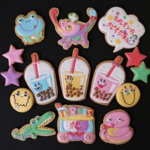 【6月1DAY】カメレオンのタピオカ屋さんアイシングクッキーレッスン
